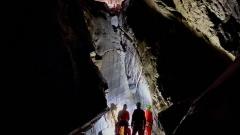 Jaskinia Marmurowa - Piaskownica